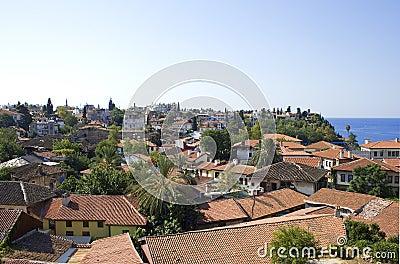 Old city in Antalya