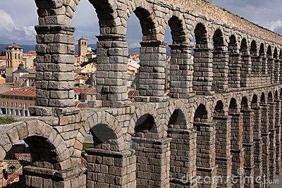 Old city and aquaduct