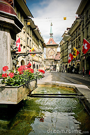 Free Old City Bern Royalty Free Stock Image - 15685496