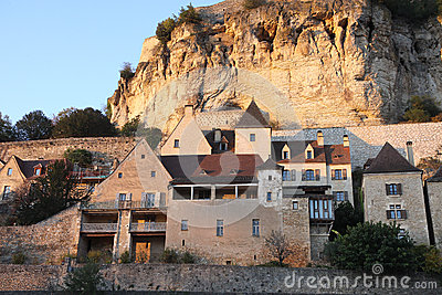 Old city of Beynac, Dordogne, France