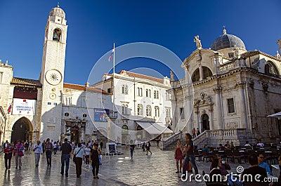 Dubrovnik - Croatia Editorial Photography
