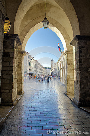 Dubrovnik - Croatia Editorial Stock Photo