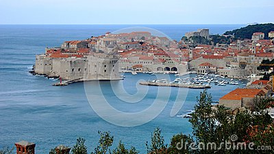 Old city of Dubrovnik Croatia