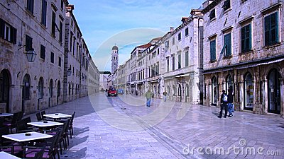 Old city of Dubrovnik Croatia Editorial Photo