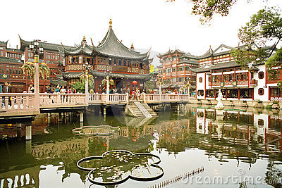 The Old City God s Temple in Shanghai