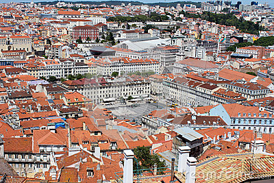 Old city of Lisbon