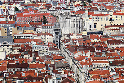 Old city of Lisbon, Portugal