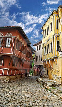 Old city Plovdiv (Bulgaria)