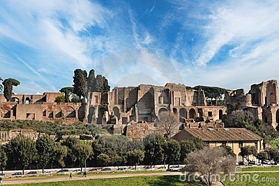 Old city of Rome