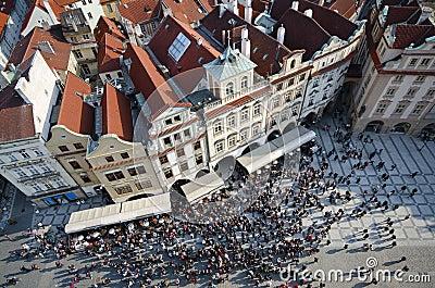 Old city square, Prague, Czech Republic