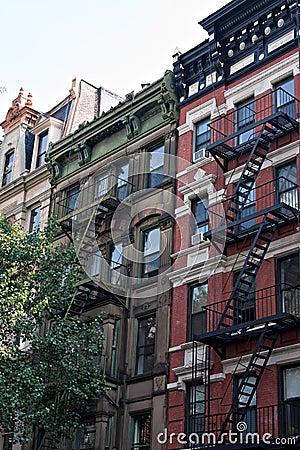Old City Tenement Buildings
