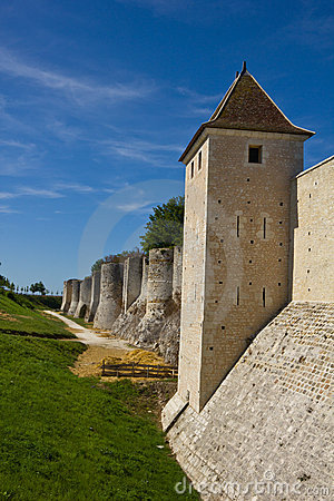 Old city walls - Provins