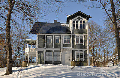 Old classic style house