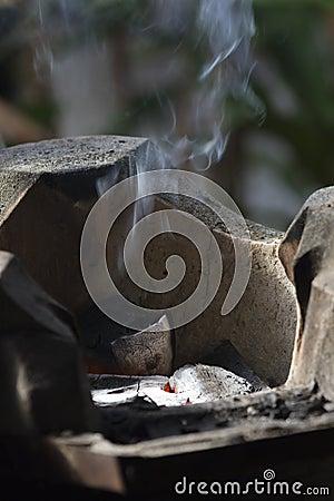 Gold n hot stove iron set