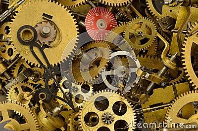 Old Clock Parts