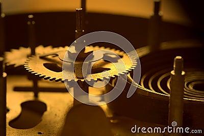 Old clock s parts - II