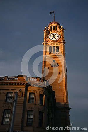 Old Clock Tower at Central Station.