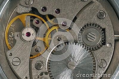 Old clockwork mechanism