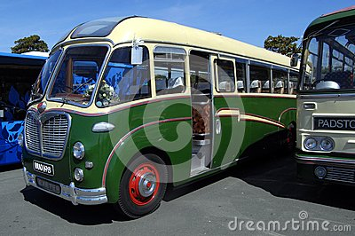 Old Coach, Bedford SB Duple Vega Editorial Stock Photo
