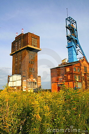 Old coal mine