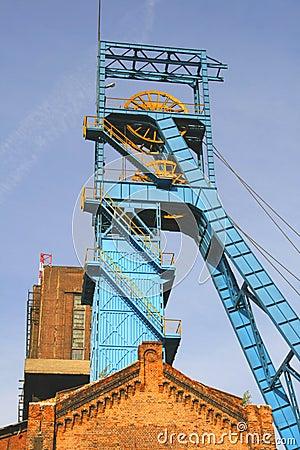Old coal mine shaft
