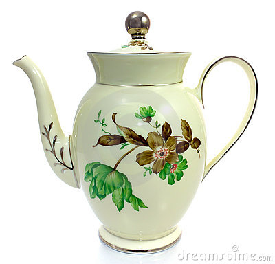 Free Old Coffee Pot Stock Photography - 20654682