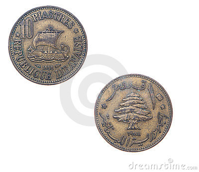 Old coins Lebanon