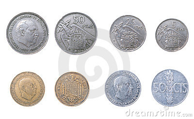 The Old coins Spain