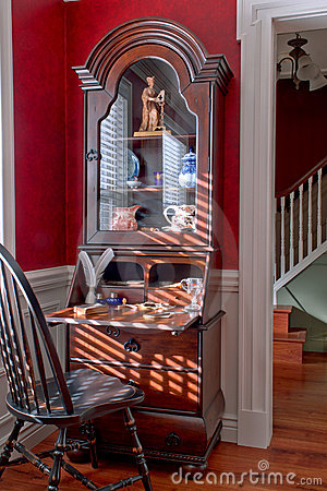 Free Old Colonial American Style Antique House Interior Royalty Free Stock Photo - 12623745