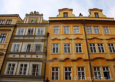 Old colorful buildings