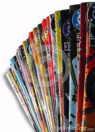 Old Coloured Comics