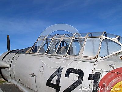 Old combat plane