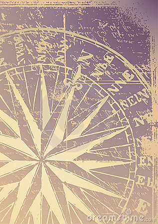 Free Old Compass Stock Photography - 5024052