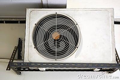 Old compressor air condition