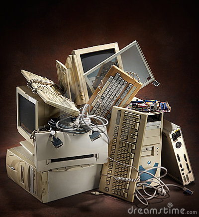 Free Old Computers Stock Images - 8534724