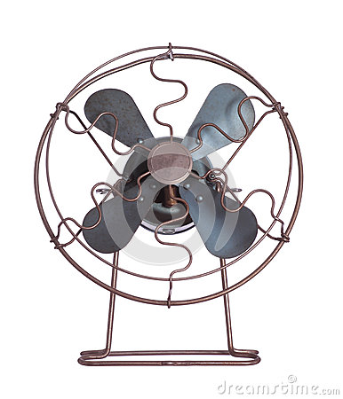 Old cooling fan
