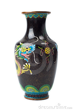 Free Old Copper Chinese Vase Stock Photo - 18247430