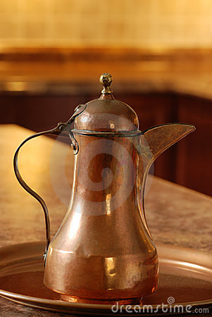 Free Old Copper Jug Stock Photos - 21204193