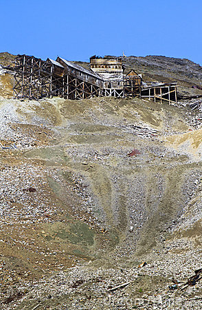 Old copper mine