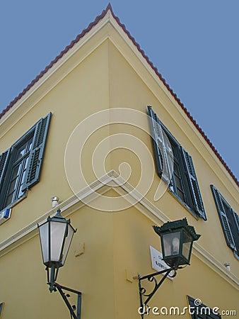 Free Old Corner House Stock Photos - 110603