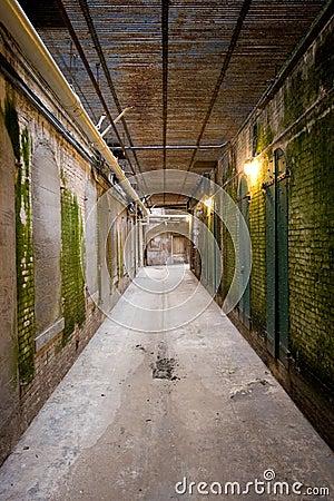Old Corridor at Alcatraz