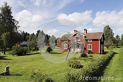 Old cottages from sweden