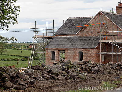 Old Country Cottage Under Renovation