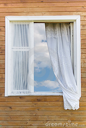 Old country-style window