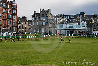 Old Course Editorial Image