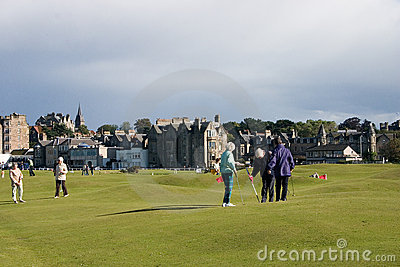 Old Course Editorial Photo