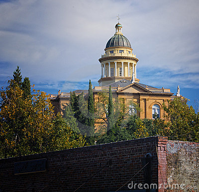 Old Courthouse, Auburn California Editorial Stock Photo