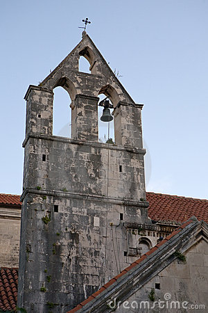Old Croatian belfry