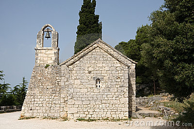 Old Croatian church