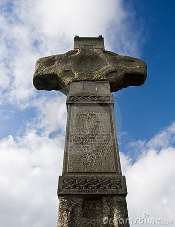 The old cross in north ireland